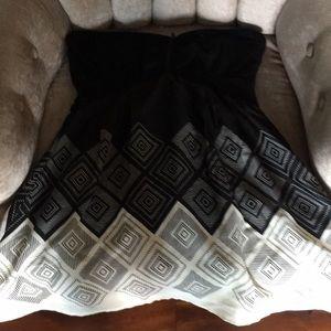 Bebe Strapless Dress NWT Large